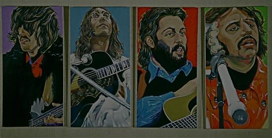 The Beatles por somsakul